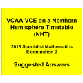 Detailed answers 2018 VCAA VCE NHT Specialist Mathematics Examination 2