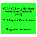 Detailed answers 2018 VCAA VCE NHT Physics Examination