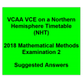 Detailed answers 2018 VCAA VCE NHT Mathematical Methods Examination 2