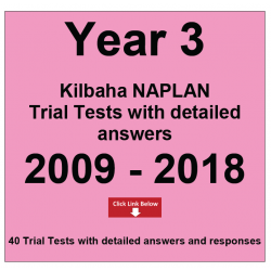 Package Year 3 - Trial Tests