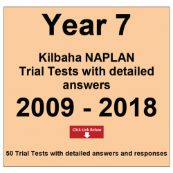 Package Year 7 - Trial Tests