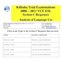 Kilbaha VCE EAL Section C