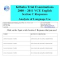 Kilbaha VCE English Section C