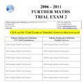 #VCE Further Maths Trial Exams 2 - six exams