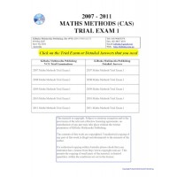 #VCE Maths Methods Trial Exams 1 - five exams