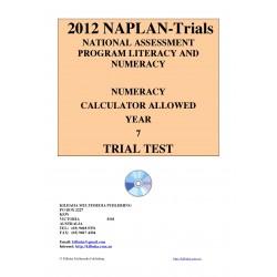 2012 Y7 Numeracy Calculator Allowed