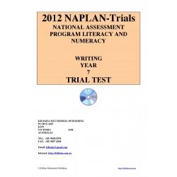 2012 Y7 Writing