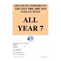 All answers May 2008 - 2010 Year 7