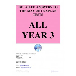 All answers May 2011 Year 3