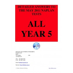 All answers May 2011 Year 5