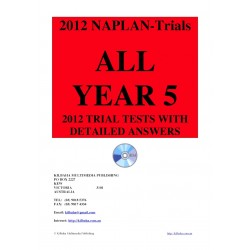 All 2012 NAPLAN Year 5 Trial Tests