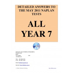All answers May 2011 Year 7