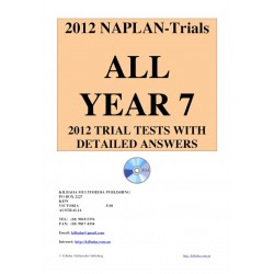 All 2012 NAPLAN Year 7 Trial Tests