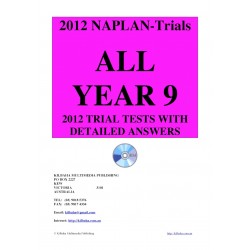 All 2012 NAPLAN Year 9 Trial Tests