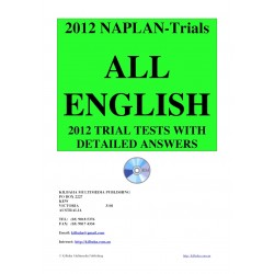 All English NAPLAN Trial Tests 2012