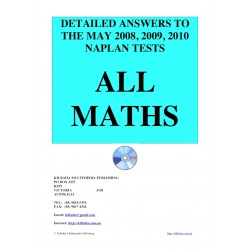 All answers May 2008 - 2010 Maths