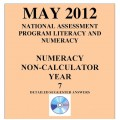 Year 7 May 2012 Numeracy Non-Calculator - Answers