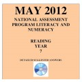 Year 7 May 2012 Reading - Answers