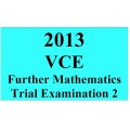 2013 VCE Further Mathematics Trial Exam 2