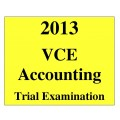 VCE Accounting Trial Exam 1