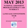 Year 3 May 2013 Language - Answers
