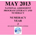 Year 3 May 2013 Numeracy - Answers