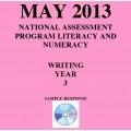 Year 3 May 2013 Writing - Response