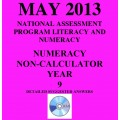 Year 9 May 2013 Numeracy Non-Calculator - Answers