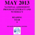 Year 9 May 2013 Reading - Answers