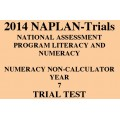 2014 Y7 Numeracy Non-Calculator