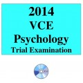 2014 VCE Psychology Trial Examination Units 3 and 4