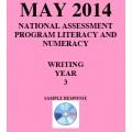 Year 3 May 2014 Writing - Response
