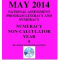 Year 9 May 2014 Numeracy Non-Calculator - Answers