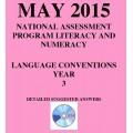 Year 3 May 2015 Language - Answers