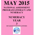 Year 3 May 2015 Numeracy - Answers