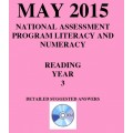 Year 3 May 2015 Reading - Answers