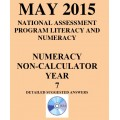 Year 7 May 2015 Numeracy Non-Calculator - Answers