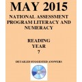 Year 7 May 2015 Reading - Answers