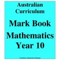Australian Curriculum Mathematics Year 10 - Mark Book