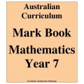 Australian Curriculum Mathematics Year 7 - Mark Book