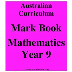 Australian Curriculum Mathematics Year 9 - Mark Book