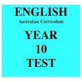 Australian Curriculum English Year 10