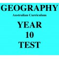 Australian Curriculum Geography Year 10