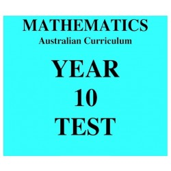 Australian Curriculum Mathematics Year 10