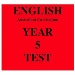 Australian Curriculum English Year 5