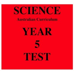 Australian Curriculum Science Year 5