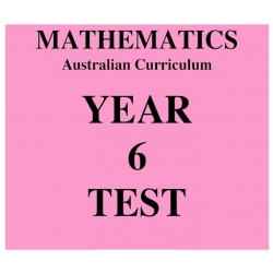 Australian Curriculum Mathematics Year 6