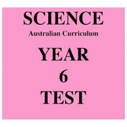 Australian Curriculum Science Year 6