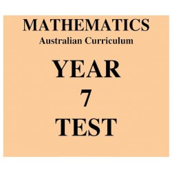Australian Curriculum Mathematics Year 7