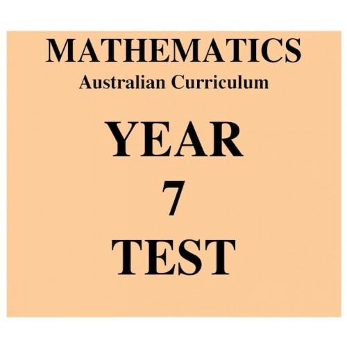 Australian Curriculum Mathematics Year 7